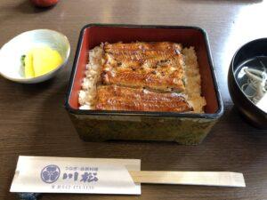『川松』うなぎ・会席料理