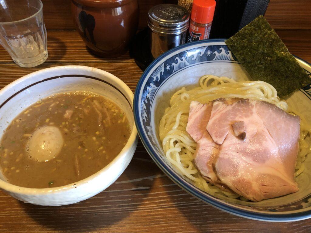 『らーめん 木尾田』特製つけ麺大盛り300g