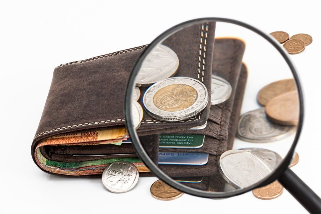 お金がない | 「あれ?財布に合った1万円…もう3千円しかない。何に使ったっけ??」